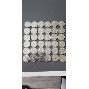 Monety z piłkarzami PZPN 36 sztuk
