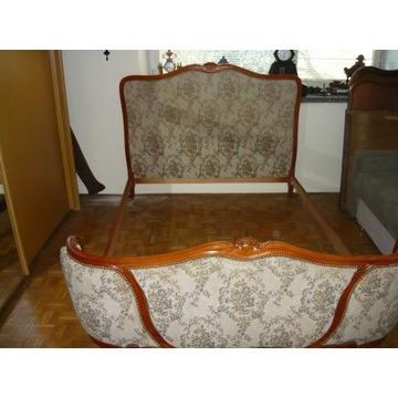 Łóżko Francuskie ze stelażem