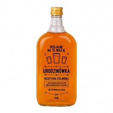Butelka Piersiówka 500ml z nadrukiem - Oleśnica