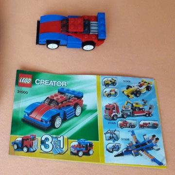 LEGO Creator 31000 Mini Ścigacz Speeder 3 w 1