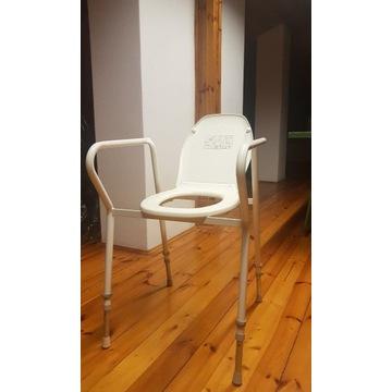 Nowe Krzesło toaletowe SWERECO - do 160 kg