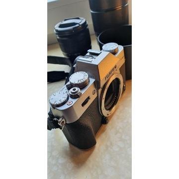Fujifilm x-t10 Srebrny