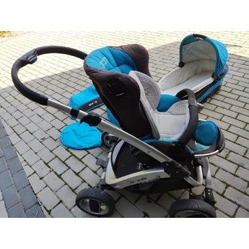 coneco barracuda wózek 3w1 dla dzieci sprawny