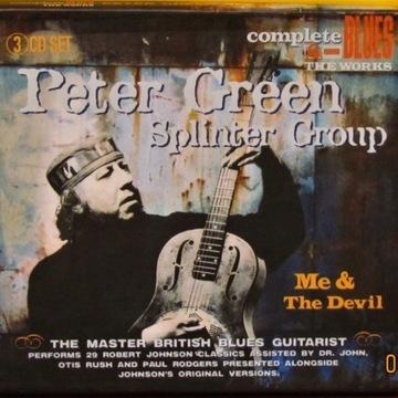Peter Green Splinter Gr- Me & The Devil; 3CD; (M)
