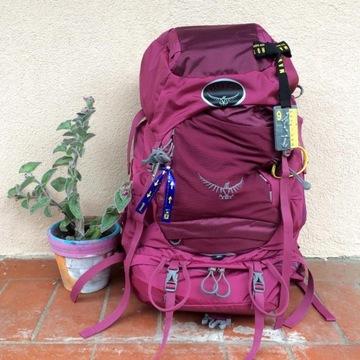 Plecak trekkingowy Osprey Kyte 46 Purple Calla