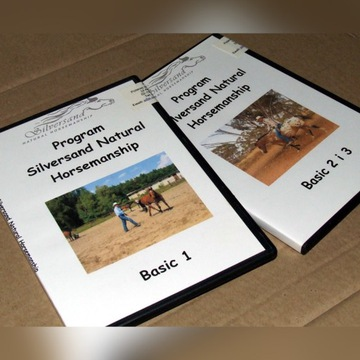 SILVERSAND NATURAL HORSEMANSHIP BASIC - 3 x DVD