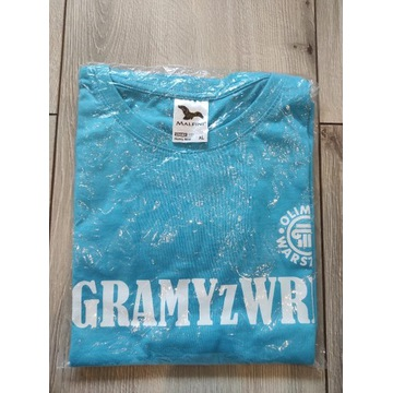 Koszulka Olimpia Warszawa GRAMY Z WRKS nowa XL