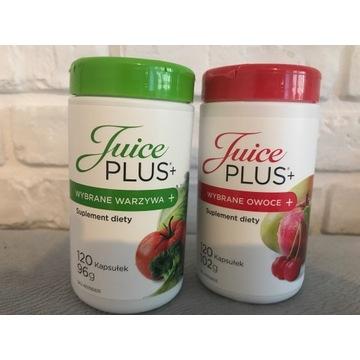 Juice plus kapsułki owoce i warzywa