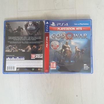 Ps4 God of War dubbing używana wersja pudełko bcm