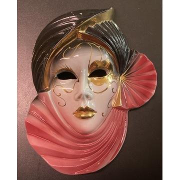 Piękna duża maska wenecka 27x20