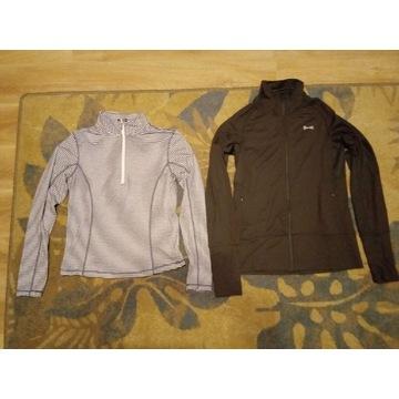 2 sportowe bluzy Trespass XS USA PRO S