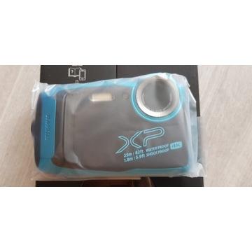 Aparat FUJIFILM FinePix XP140 niebieski 100% NOWY!