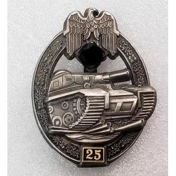 WW2 Niemieck Odznaka Szturmowa Pancerna II stopnia