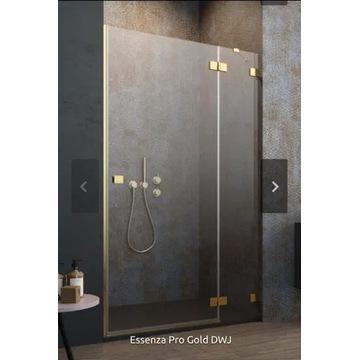 Drzwi prysznicowe Essenza Pro Gold DWJ Radaway