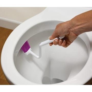 Szczoteczka do czyszczenia obrzeża muszli