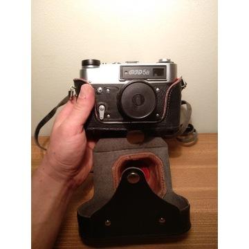 Aparat fotograficzny Fed 5B + Industar 61L/D