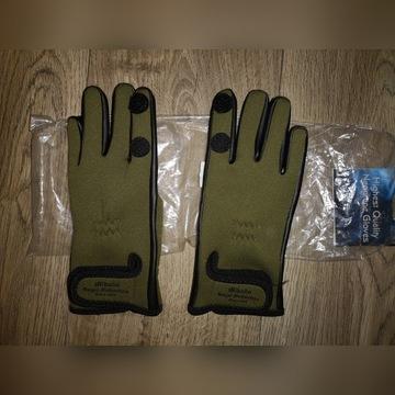 Rękawiczki neoprenowe rękawice wędkarskie Mikado