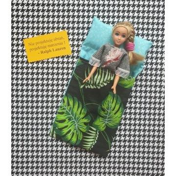Śpiwór dla lalki Barbie i nie tylko- 100%bawełna