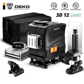 DEKO LL12-GTD 360 laser samopoziomujący 3D 12 lini