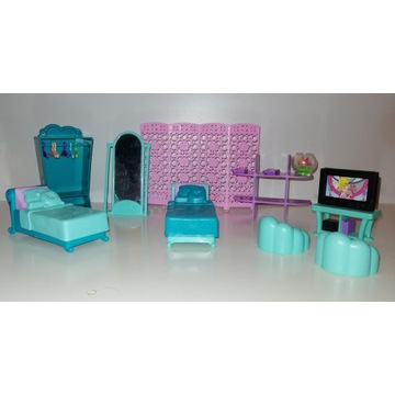 Mebelki Polly Pocket