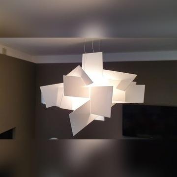 Oryginalna Lampa wisząca Big Bang Biała Foscarini