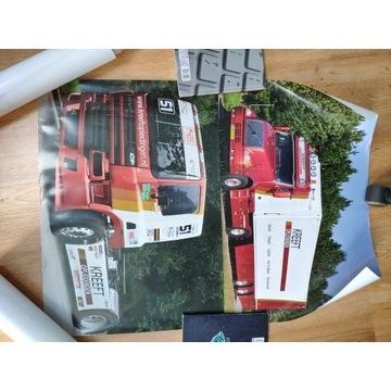 Scania S500, Volvo VNL, Daf CF Plakat