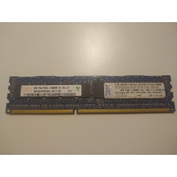 Pamięć RAM 1x4GB DDR3 HYNIX 1333Mhz ECC
