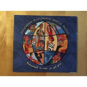 CD Putumayo World Music NOWA (muzyka świata) FOLIA