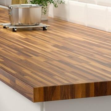 Blat kuchenny drewniany IKEA orzech  246cm/3.8cm