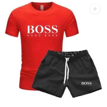 Komplet Hugo Boss spodenki koszulka (M-XXl)