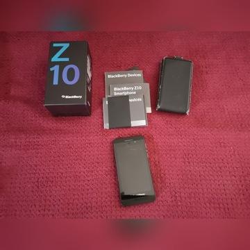 Blackberry Z10 czarny z akcesoriami i box