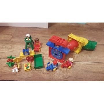 Lego duplo cyrk - klaun - zjeżdzalnia