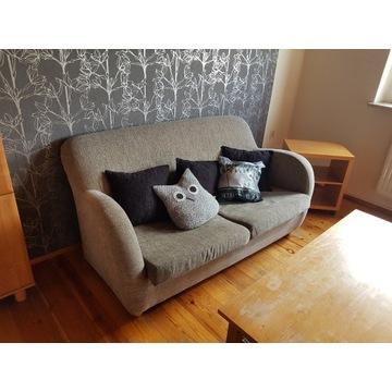 Sofa z funkcją spania + 2 fotele