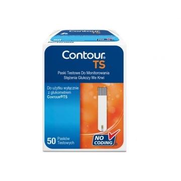 Contour TS paski do glukometru, bez pudełka.