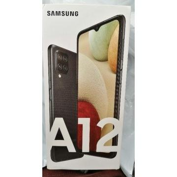 Nowy Samsung A12 64Gb czarny