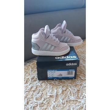 Buty adidas r.22 dla dziewczynki nowe gwarancja