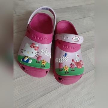 Buty CROCS Hello Kitty Custom Clog J 2 33 34