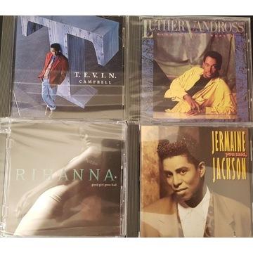 4 CD SOUL  J.Jackson, Rihanna, Vandross,T.Campbell