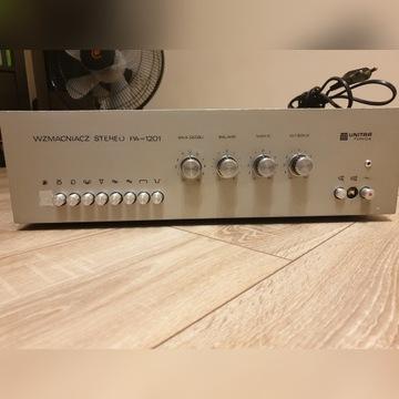 UNIKAT Wzmacniacz Stereo PA-1201 Unitra Fonica