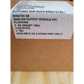 Moduł SIMATIC S5 6ES5 470-8MA11 2xAO +/-10V