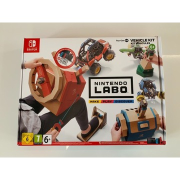 Nintendo Switch Labo Vehicle Kit Toy Con 3 NOWE