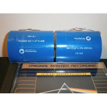 Kondensator 12uF 400Vdc ClarityCap MR para