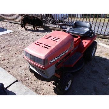 Traktorek ogrodowy kosiarka Western spalinowa