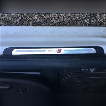 Listwy na progi-nakładki  Audi A3 8V  S-line. 4szt