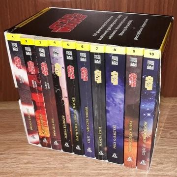 Kolekcja książek Star Wars 10 tomów Box