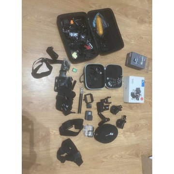 GoPro5 BLACK, feiyutech Wg2,Masa akcesoriów. 128GB