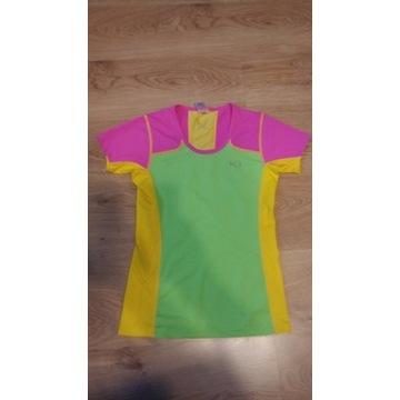 Damska koszulka Kari Traa roz S jogging fitnes itp