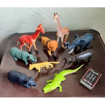 Figurki zwierzątek 9 szt. ZOO