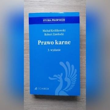"""Książka """"Prawo Karne"""" M. Królikowski R. Zawłocki"""