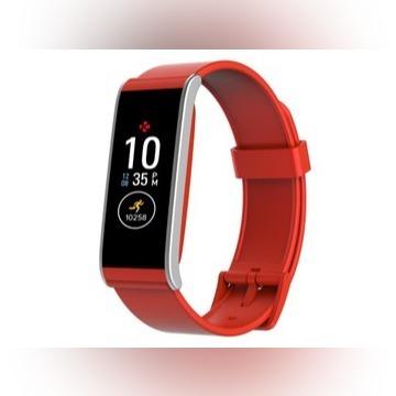 Smartwatch smartband opaska Mykronoz ZeFit4HR red